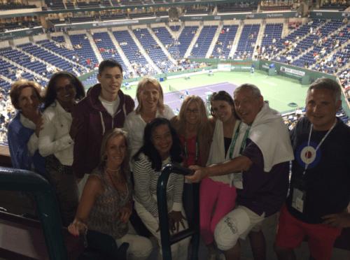 Australian Open Fans at the Australian Open in 2019 with Mac Sports Travel
