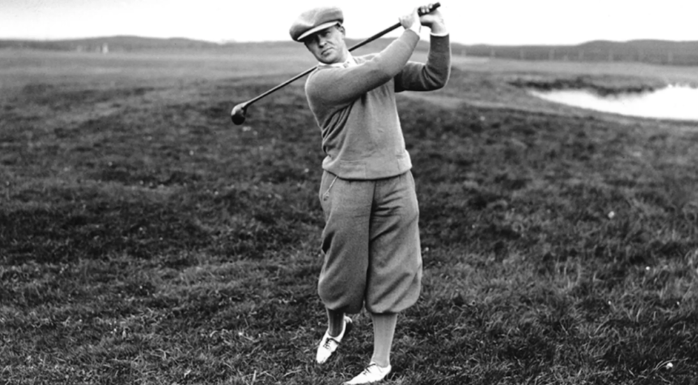 Bobby Jones one of the greatest golfers in history as mentioned in our blog on Mac Sports Travel